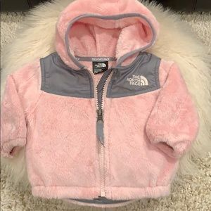 Infant North Face OSO Fleece Hooded Jacket